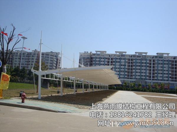 河口区钢结构停车棚生产厂家13816241782
