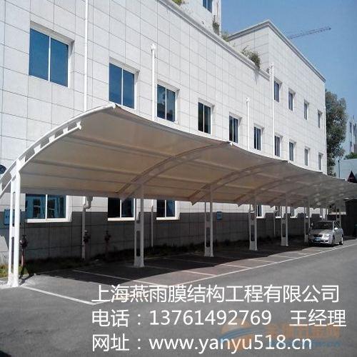 谯城区工字钢电动车停车棚|钢膜加工代安装