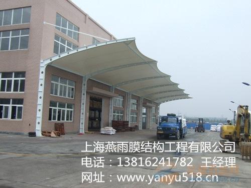 四川省双开立柱自行车停车蓬立柱拼接组装