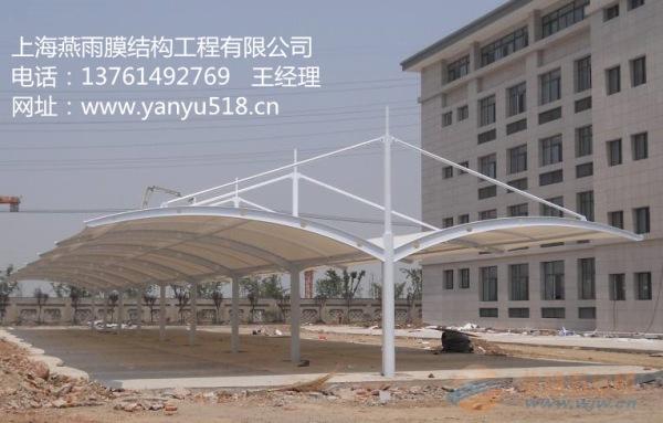 沧州市双开立柱自行车停车蓬立柱拼接组装