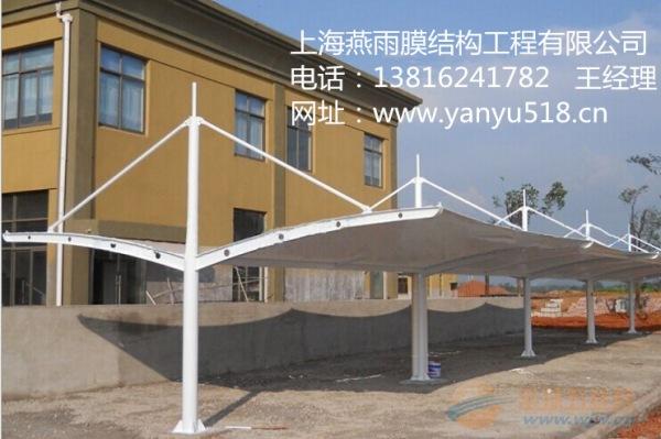 江桥镇Y形钢结构停车棚工程承包及制作