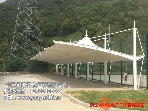 泸州市双开立柱自行车停车蓬立柱拼接组装