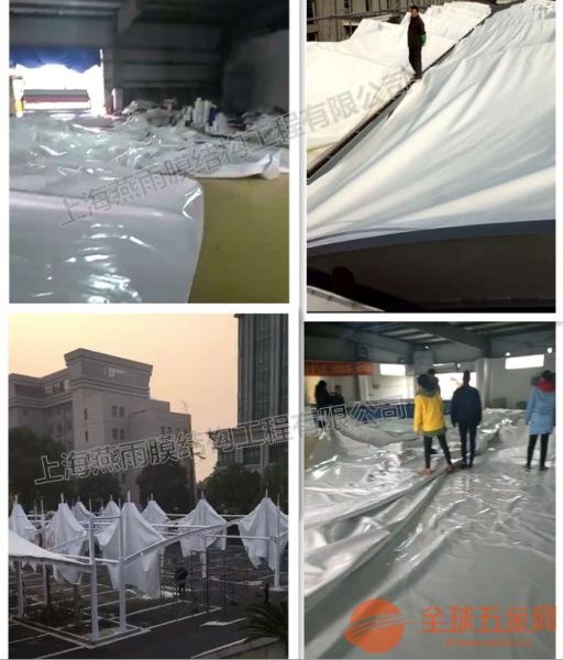 高亭镇PVC彩色膜布雨篷布加工_货发全国