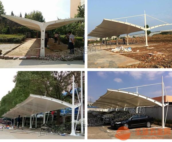 通州市燕雨厂家定制PVDF高透光膜结构停车棚膜材加工