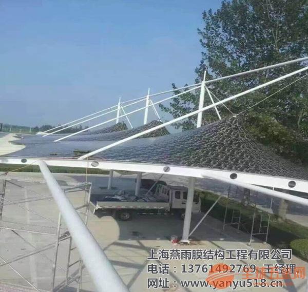 嘉祥县简易型汽车停车棚工程设计|钢材安装