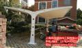 江苏苏州Q235钢结构电动车停车棚 燕雨汽车棚厂家