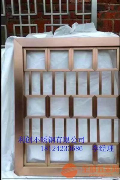 福建不锈钢酒店屏风屏风定制厂