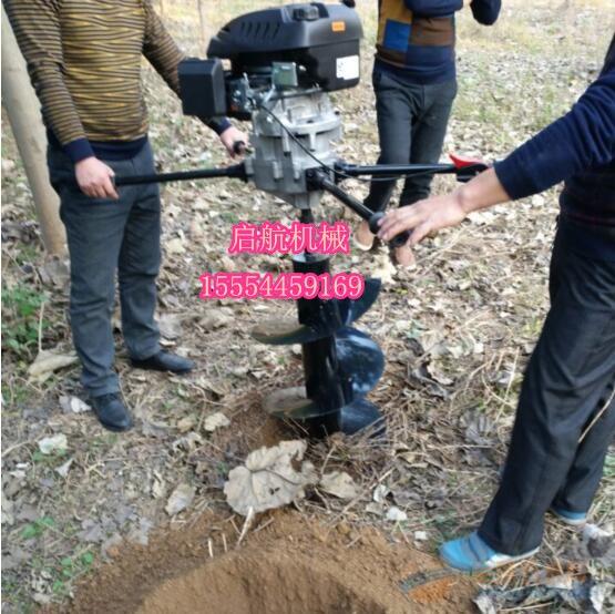 襄阳篱笆园打坑机 大直径地钻机