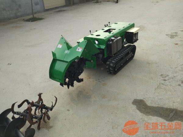 菏泽28马力柴油自走式旋耕机自走式手扶开沟机