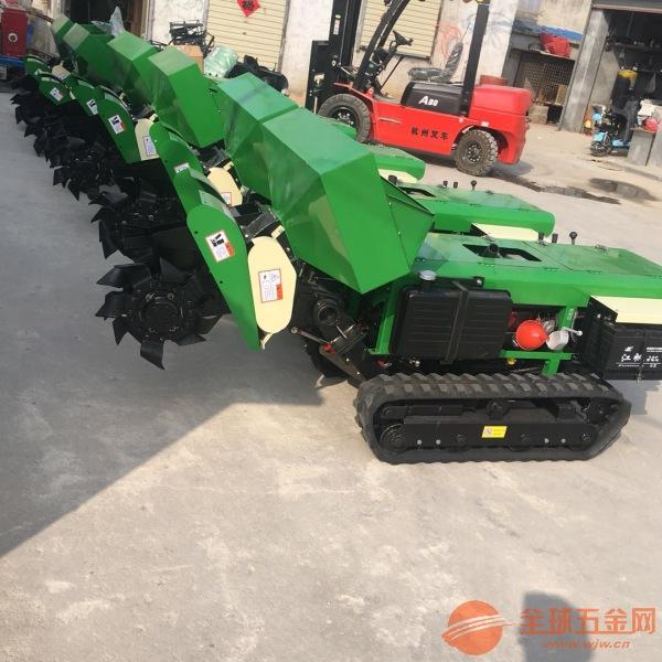 柳州自走式多功能开沟施肥机柴油自走式翻土旋耕机