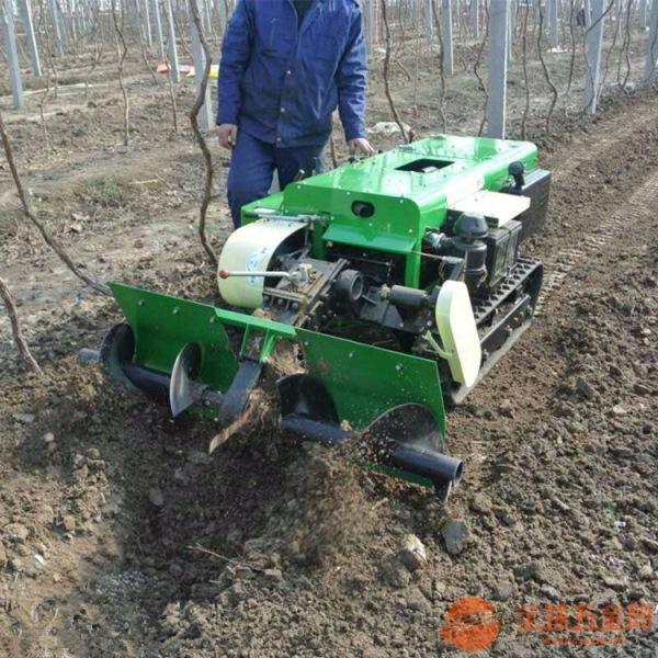 城区大棚果园种植开沟机 苹果园除草机