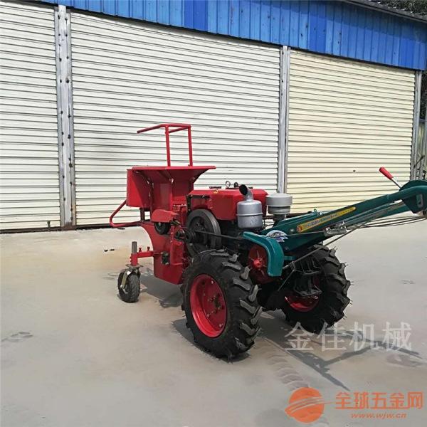 高效自走式收获机 家用小型单行玉米收获机 前置玉米收