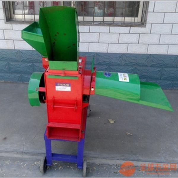 金佳机械小型铡草机 铡草柔丝粉碎机