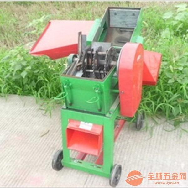 青贮铡草机 大型玉米秸秆粉碎机 干湿两用粉碎机