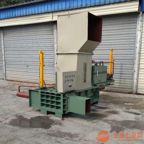 60吨废旧纸箱打包机 纸壳纸板打包机 印刷下脚料压包