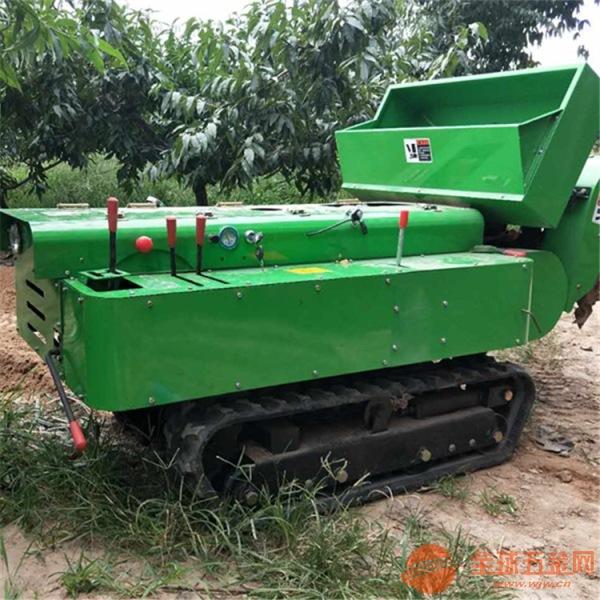 晋宁县苹果树开沟施肥打药一体机