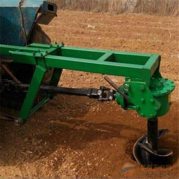 固安葡萄园专用挖坑机图片高效低耗