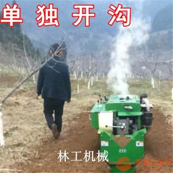 石门县履带式果园耙地松土机图片