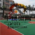 临海硅pu篮球场施工工程铺装