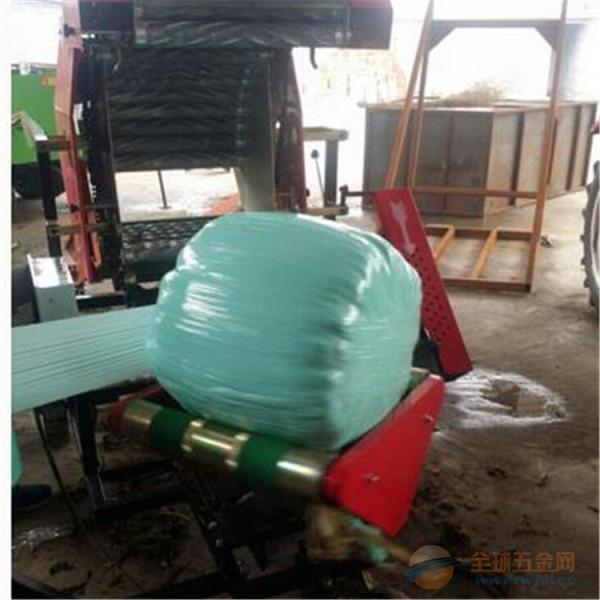 汉寿县牧草青贮打捆包膜一体机图片及价格