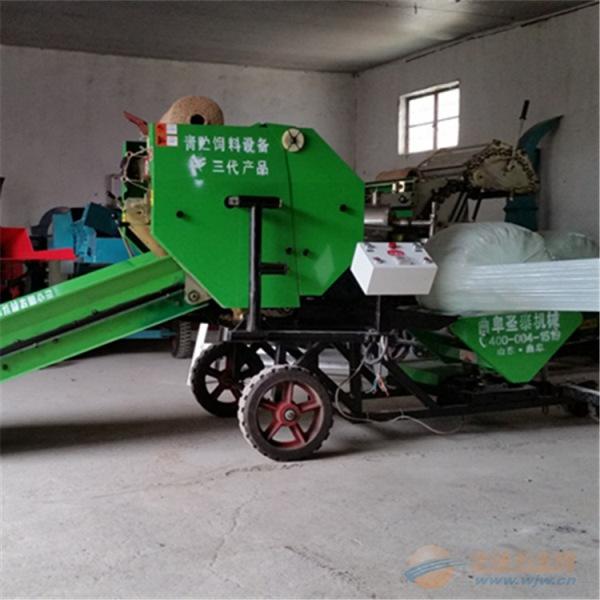 鹿城区牛羊玉米饲料打捆包膜机专业生产