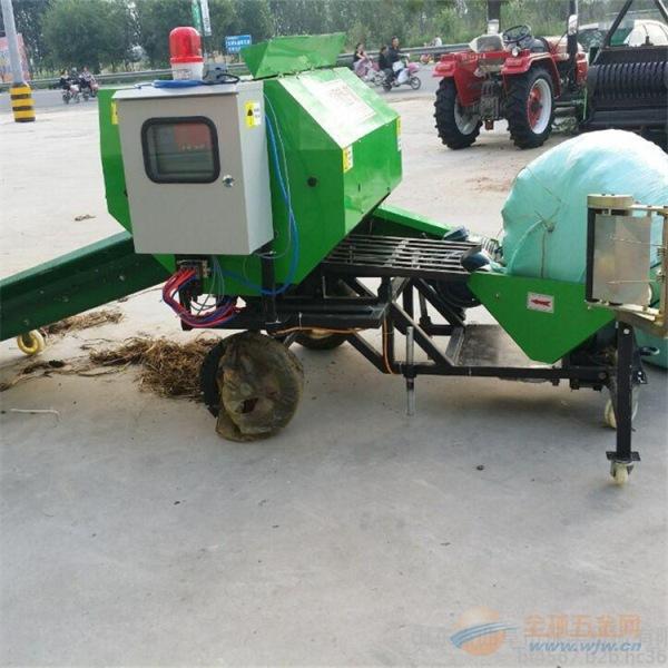 平阳县青贮秸秆打捆包膜机价格与型号