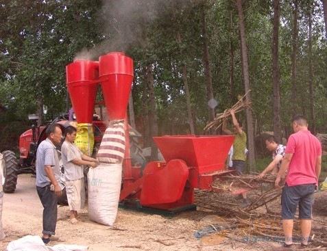 岚皋县大型自动进料秸秆饲料粉碎机操作使用视频