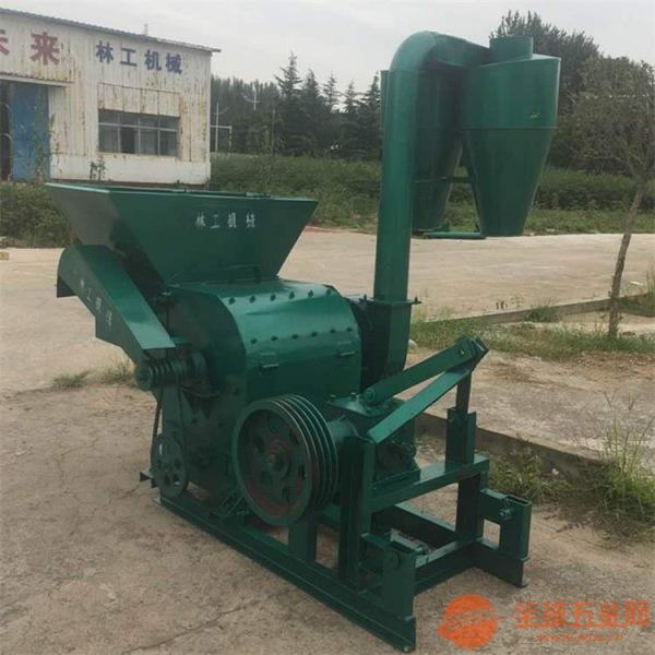 华容县大型自动进料秸秆饲料粉碎机操作使用视频