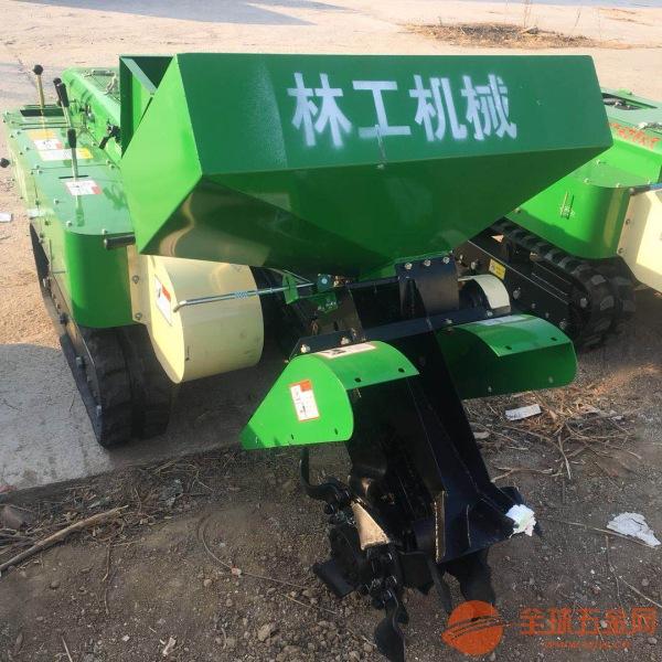 园林履带式施肥开沟机哪家好果树施肥开沟机多少钱