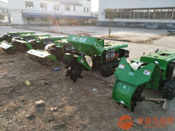 32马力自走履带式旋耕回填一体机价格施肥开沟机厂家