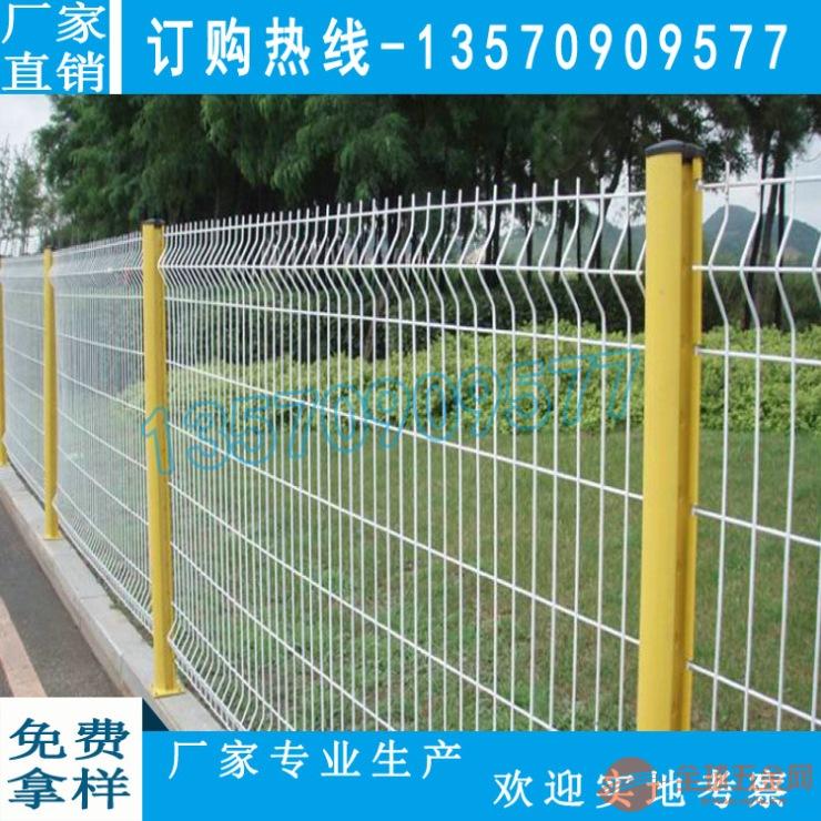 海口小区隔离网现货直销 价格实惠 三亚桃型立柱护栏网