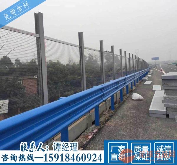 茂名乡道改造护栏 热镀锌波形围栏单价 云浮公路托架防撞板
