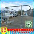 佛山球型立柱栏杆厂家 镀锌球接栏杆 三球立柱供应 出口标准