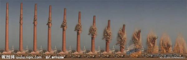 成都50米砼烟囱拆除公司免费咨询报价