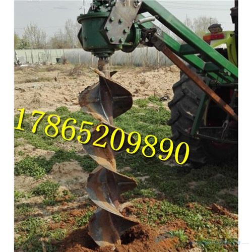 拖拉机挖坑机厂家 2米植树挖坑机价格