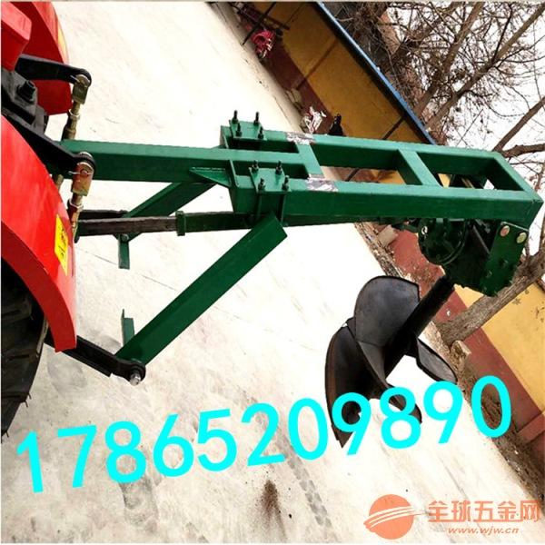 拖拉机挖坑机价格 2米植树挖窝机厂家直销