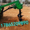立柱埋桩挖坑机价格 植树钻眼机厂家