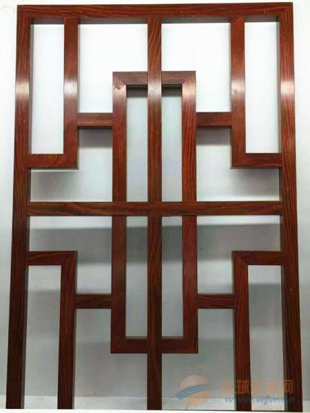 别墅窗户复古雕刻铝窗花生产厂家 规格