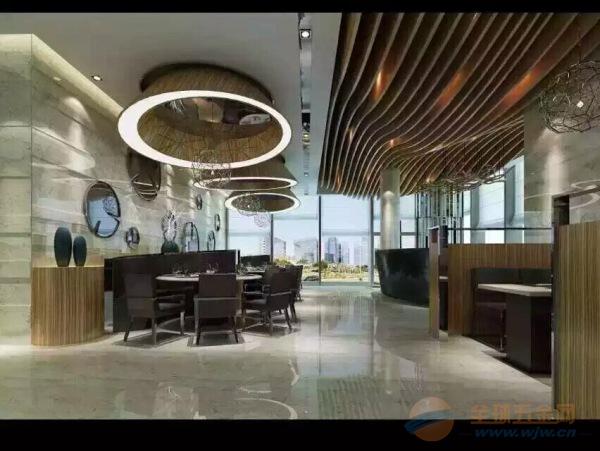 广州咖啡馆木纹铝方通吊顶批发厂家13925096127