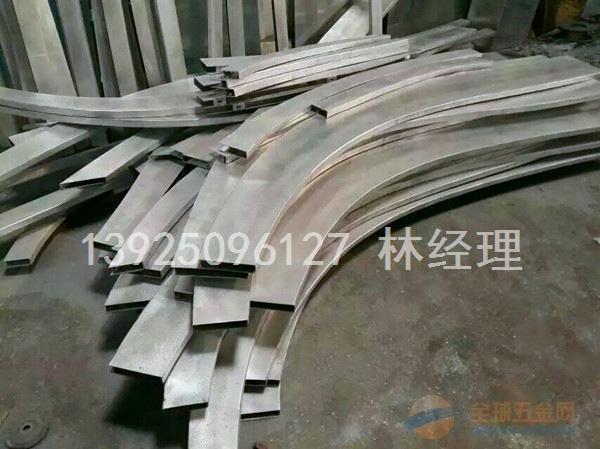 广州厂家低价供应弧形铝方通 造型铝方通_实惠耐用