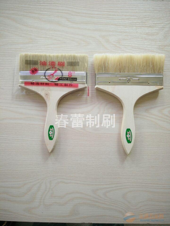 8寸白木柄优质油漆刷