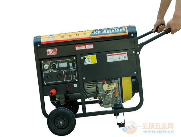野外电焊单缸190A柴油发电电焊机