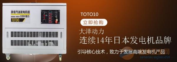 温州中日合资15kw汽油发电机参数
