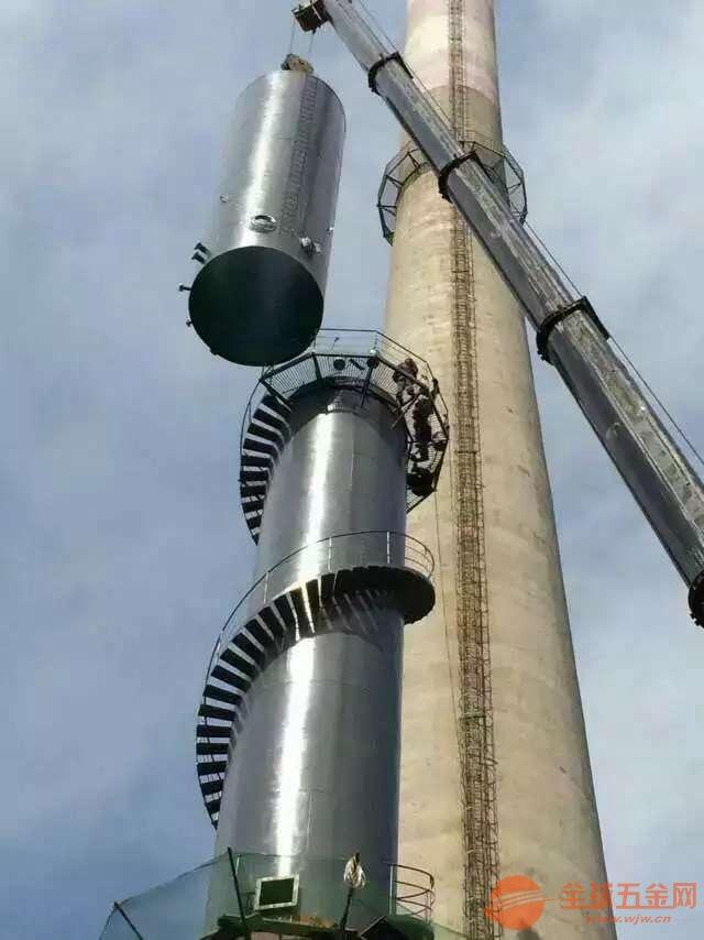 常德烟囱制作爬梯施工公司√高空作业公司欢迎您