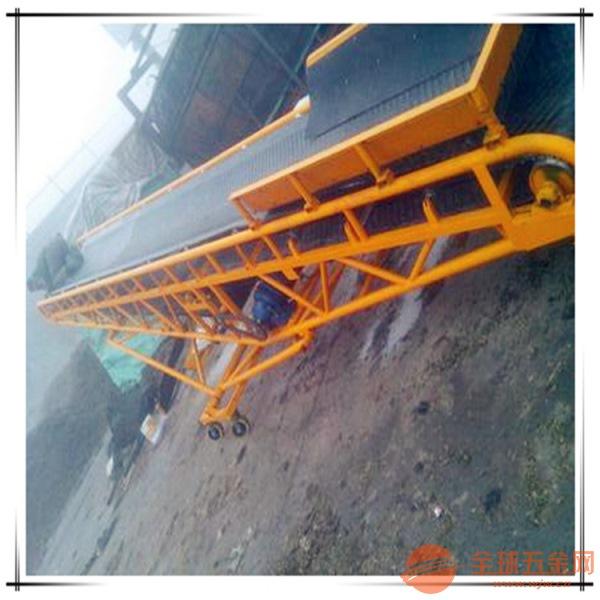 爬坡型带式运输机定制铝型材水平输送机