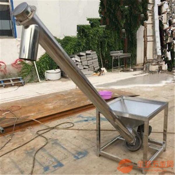 高度可定制供应挡板提升机热销药粉提升机