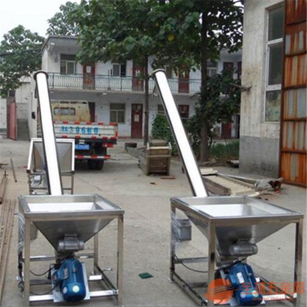 青島市樹脂顆粒用螺旋提升機