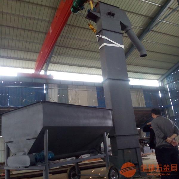 大提升量隴南糧倉斗式提升機規格提供廠家 高度定制翻斗