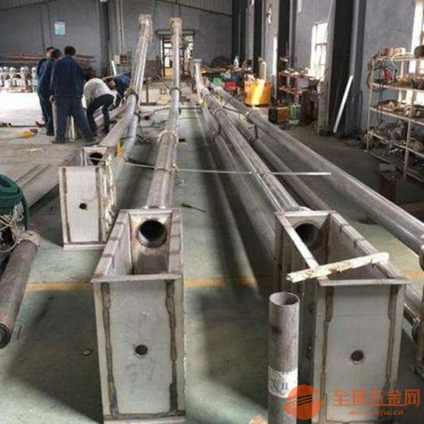 兴运管链输送机热销倾斜管链输送机