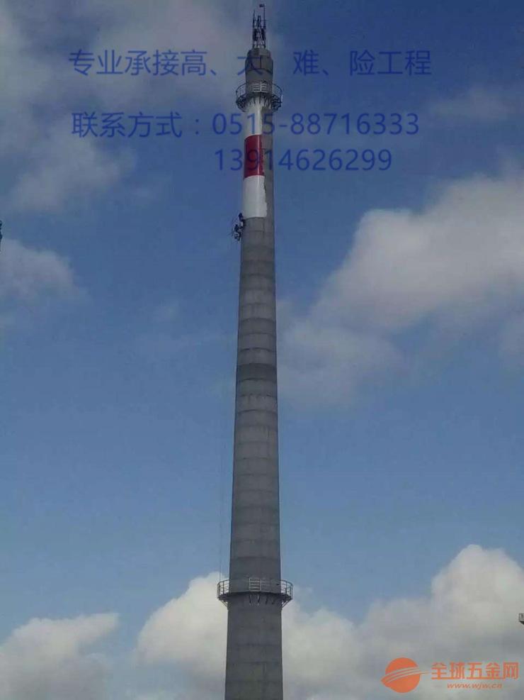 福建安装锅炉烟囱客户至上√高空作业公司欢迎您